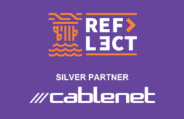 Cablenet, a Silver Partner of Reflect Festival 2020.